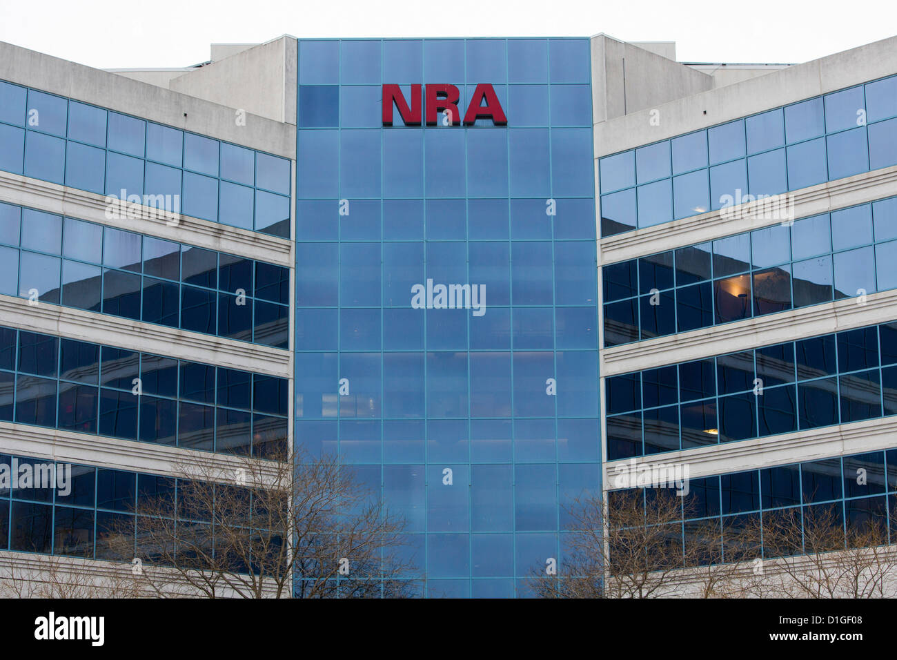 La sede de la Asociación Nacional del Rifle, también conocida como la ANR. Foto de stock