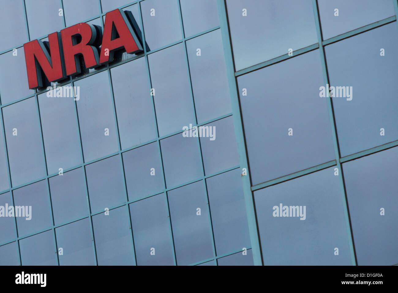 La sede de la Asociación Nacional del Rifle, también conocida como la ANR. Imagen De Stock