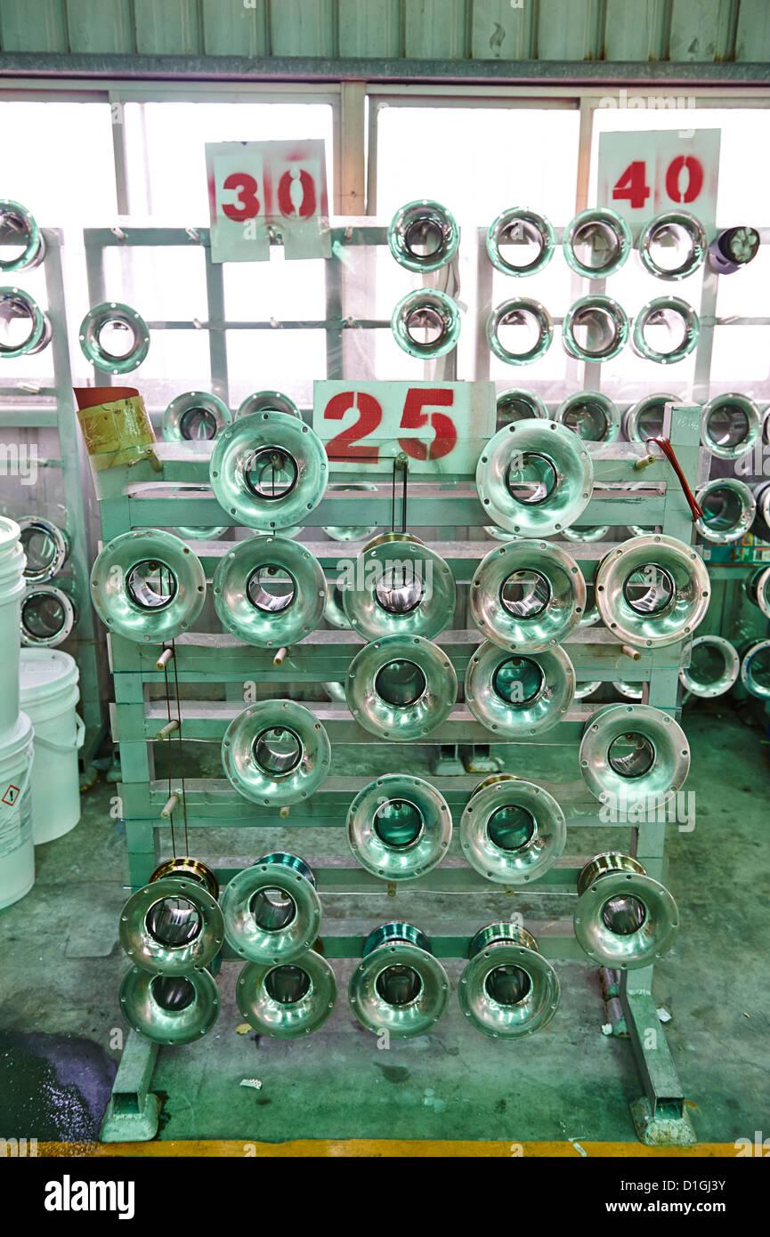 Los componentes y partes de máquinas moribundo Imagen De Stock