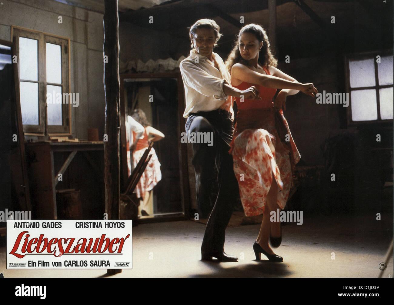 Liebeszauber Amor Brujo, El Szenenbild -- Imagen De Stock