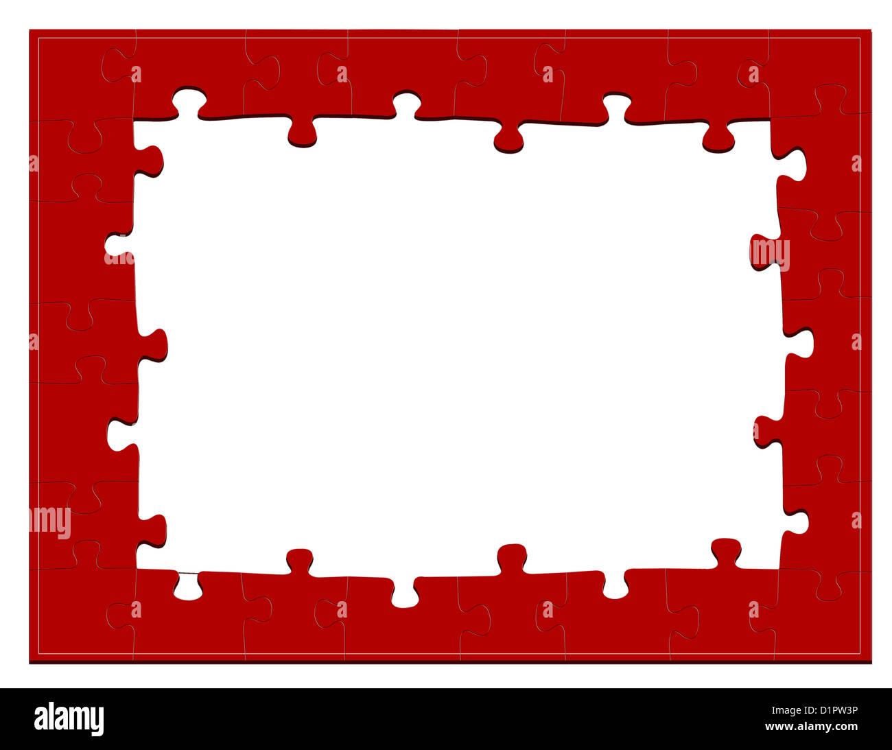 Jigsaw Puzzle Frame Imágenes De Stock & Jigsaw Puzzle Frame Fotos De ...