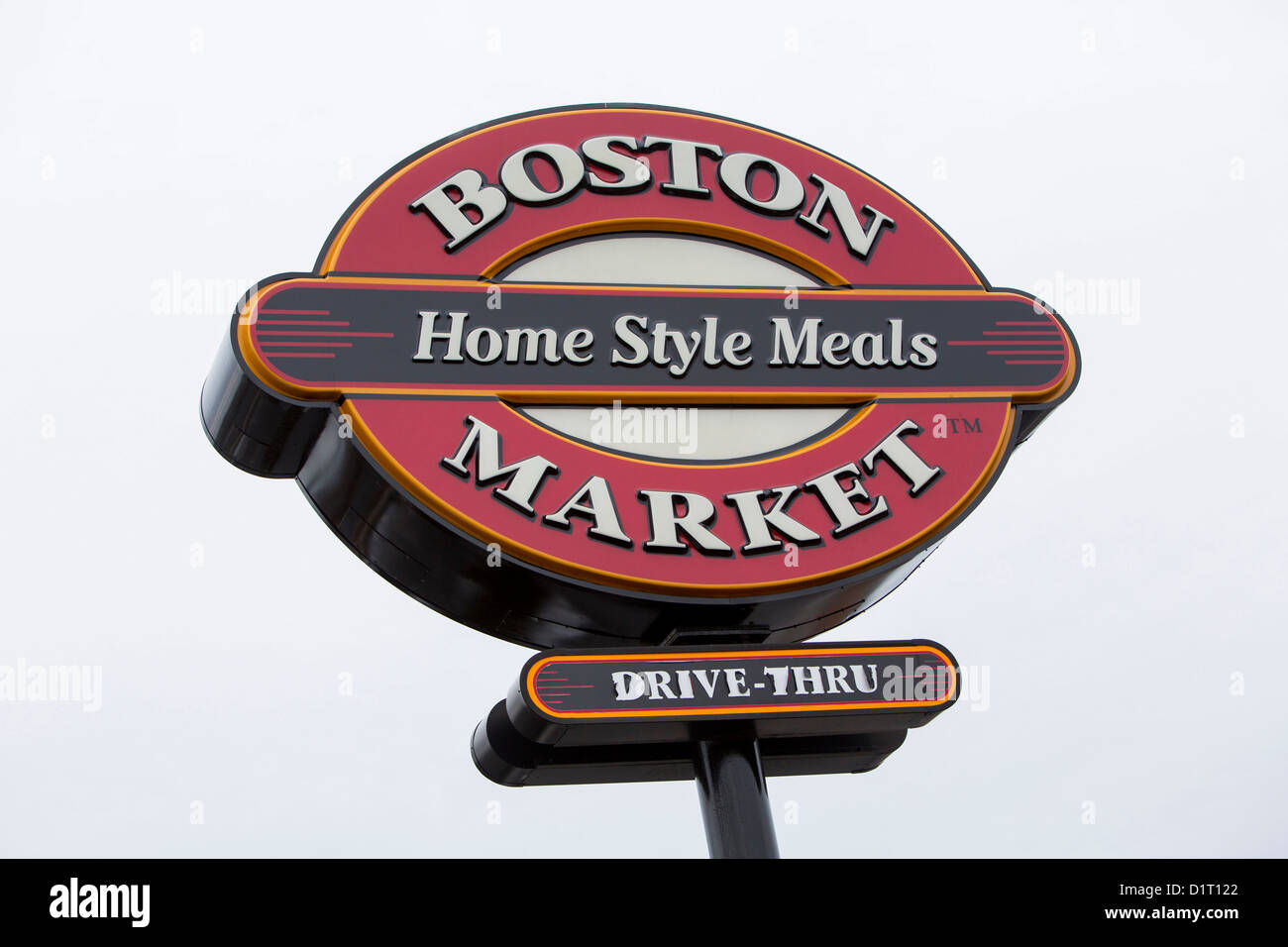 Un mercado de Boston casual restaurante de cadena. Imagen De Stock