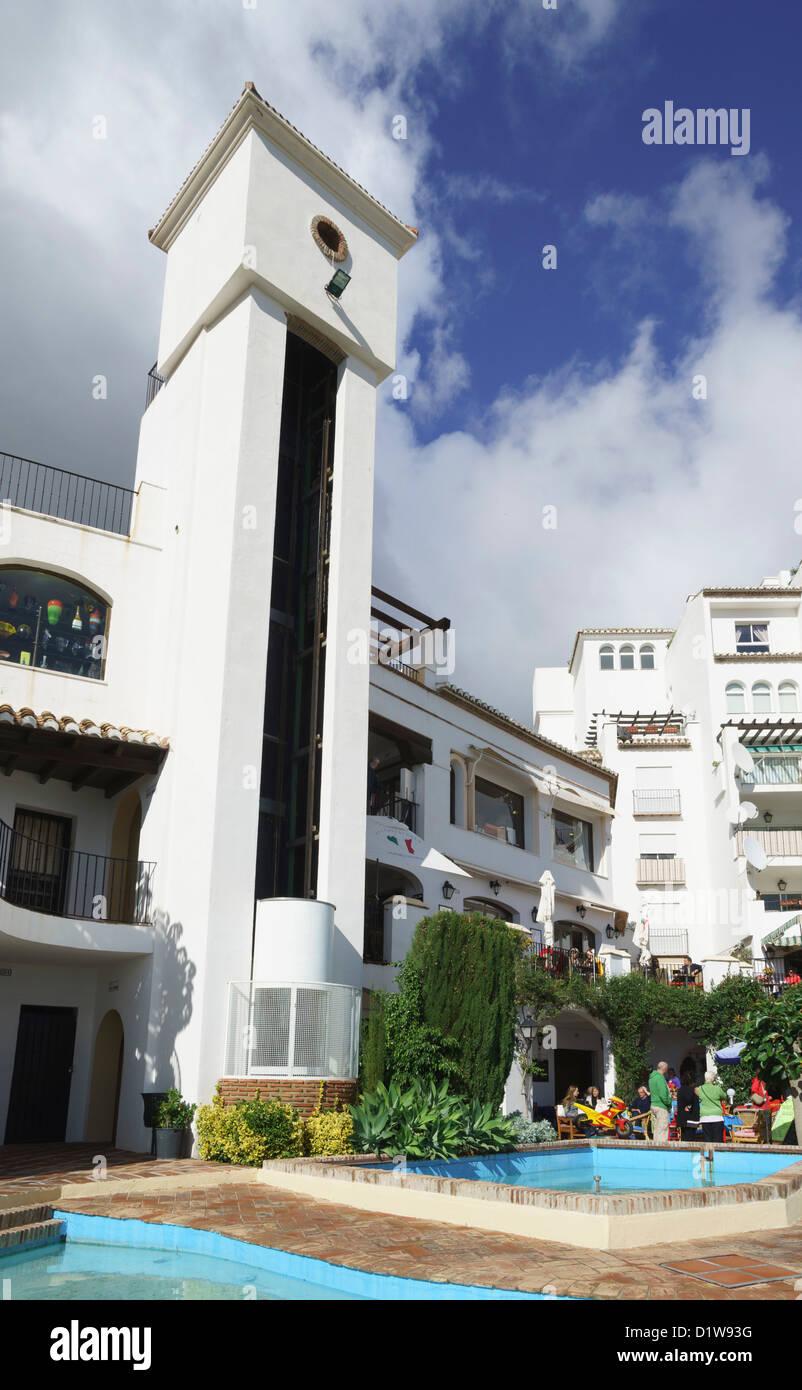 Mijas Cerca De Málaga Restaurante Alcazaba Distrito