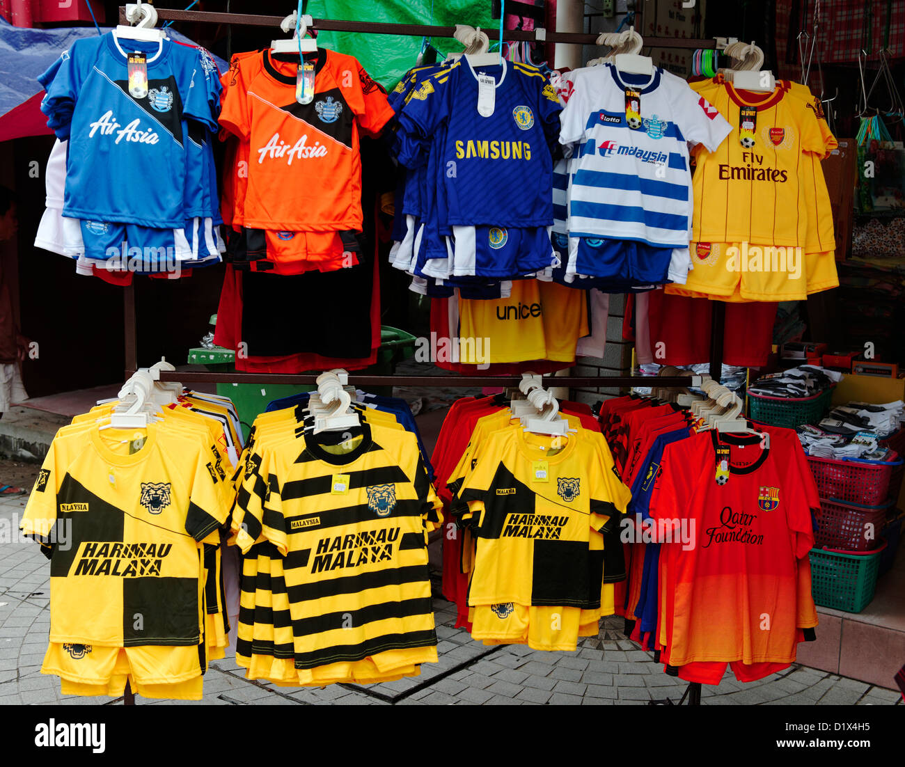 Fake Football Shirts Imágenes De Stock   Fake Football Shirts Fotos ... b07af108e9f5b