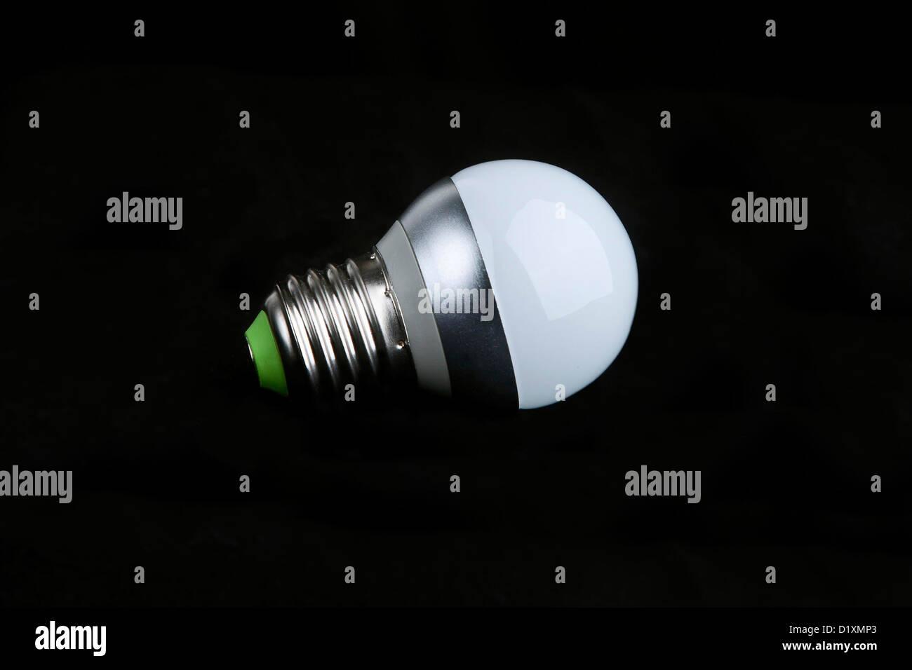 Una sola lámpara de LED. Imagen De Stock