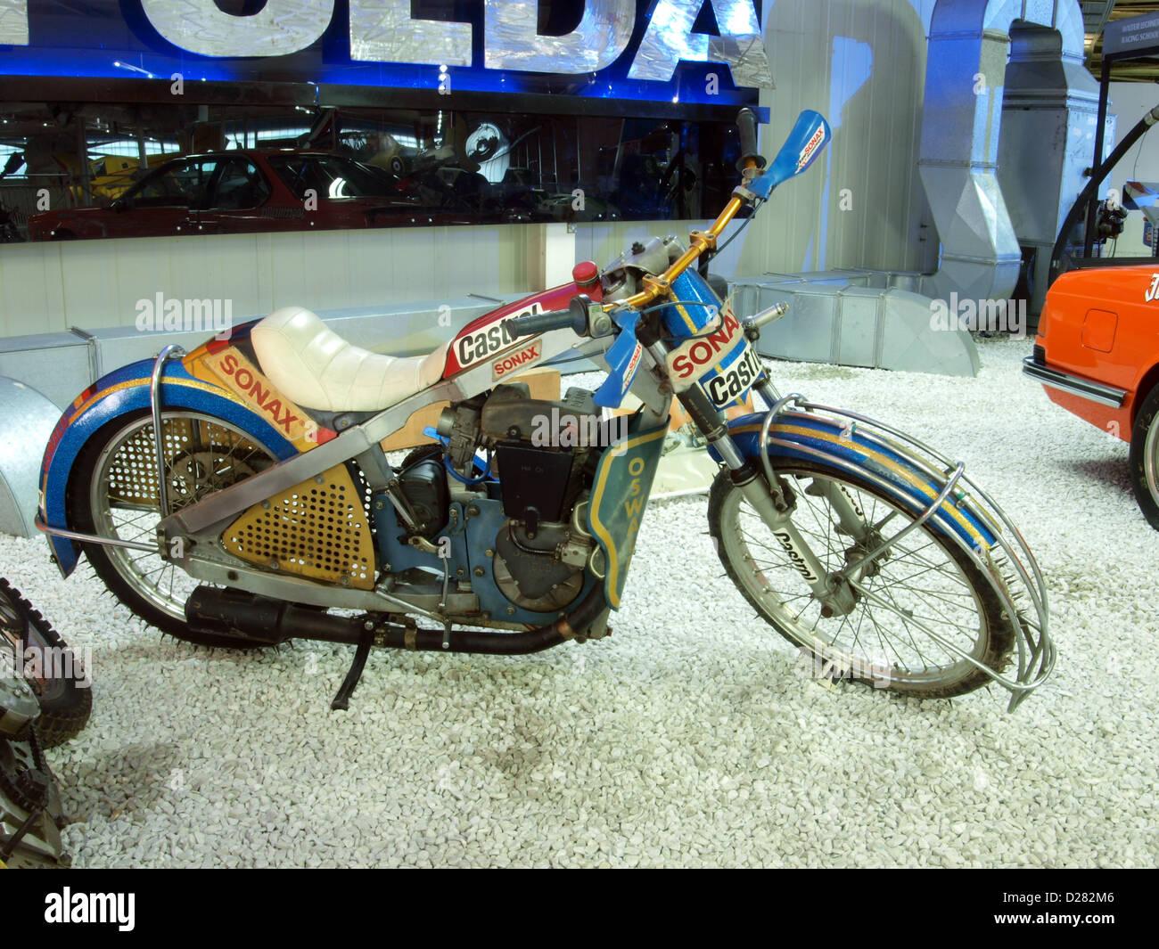 Auto & Technic museo Sinsheim.1988 JAWA Speedway 60HP 500cc Imagen De Stock