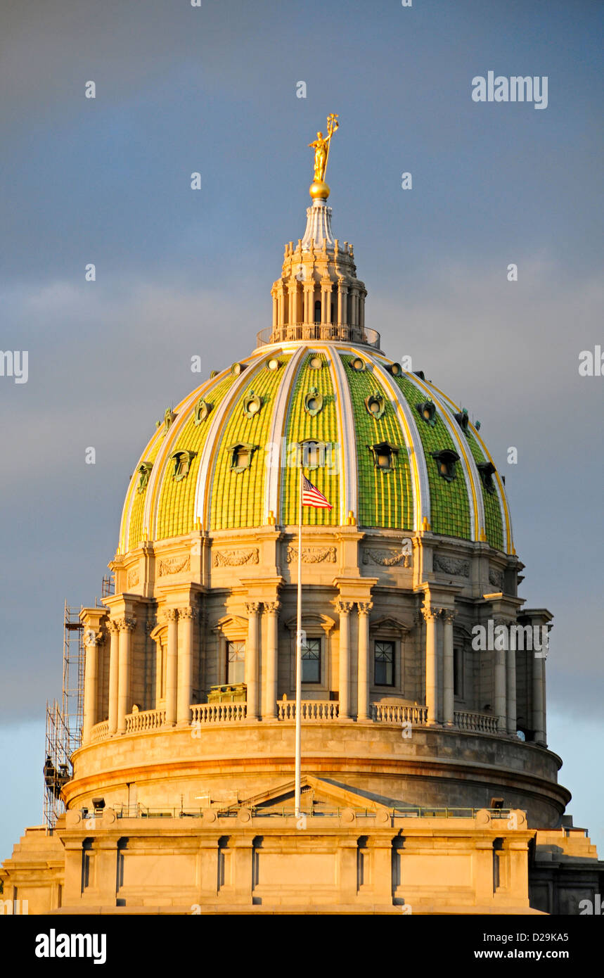 State Capitol, Harrisburg, Pennsylvania Imagen De Stock