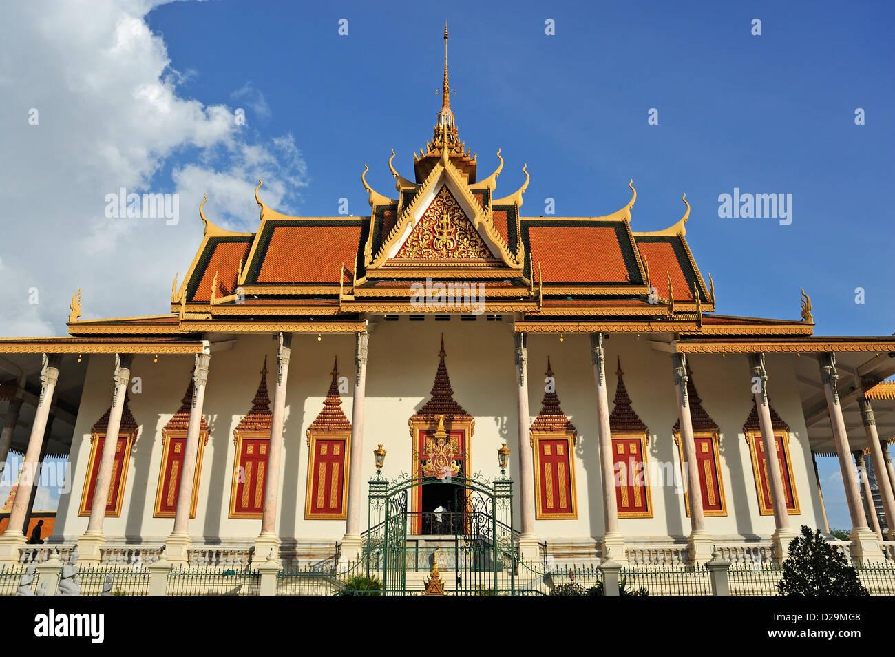 Palacio Real, en Phnom Penh, Camboya Imagen De Stock