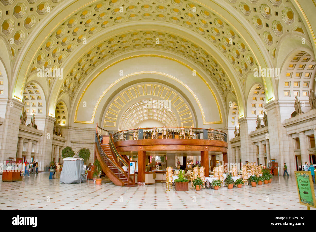 Washington, D.C., Union Station Imagen De Stock
