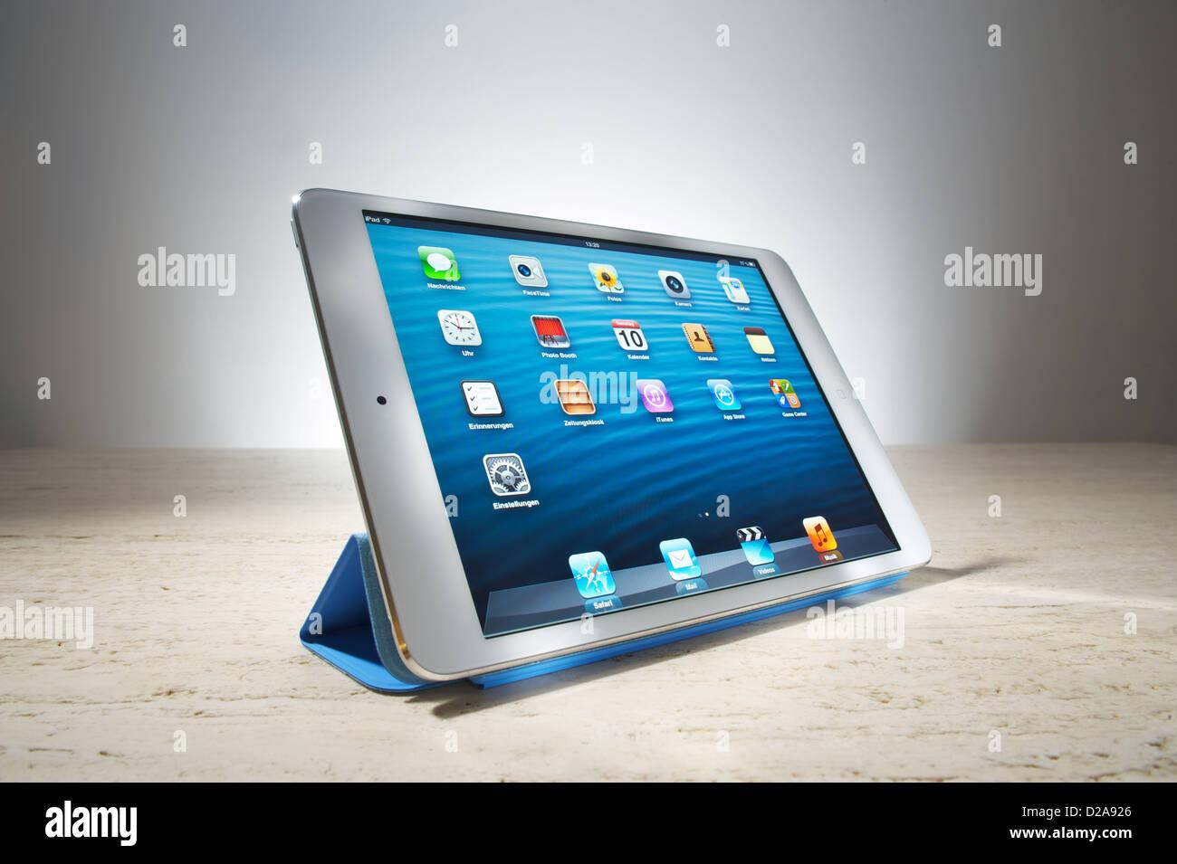 Hamburgo, Alemania, iPad mini Imagen De Stock