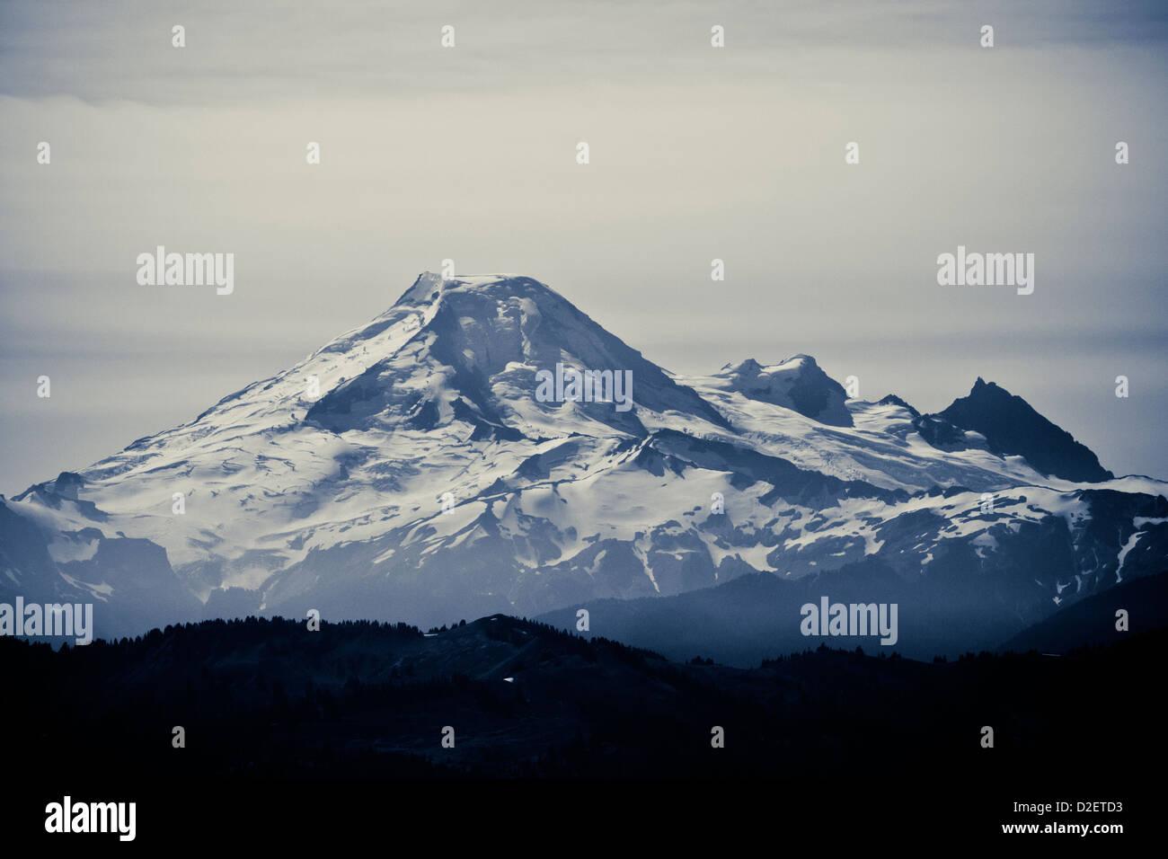 Escalar el Monte McQuire. Imagen De Stock