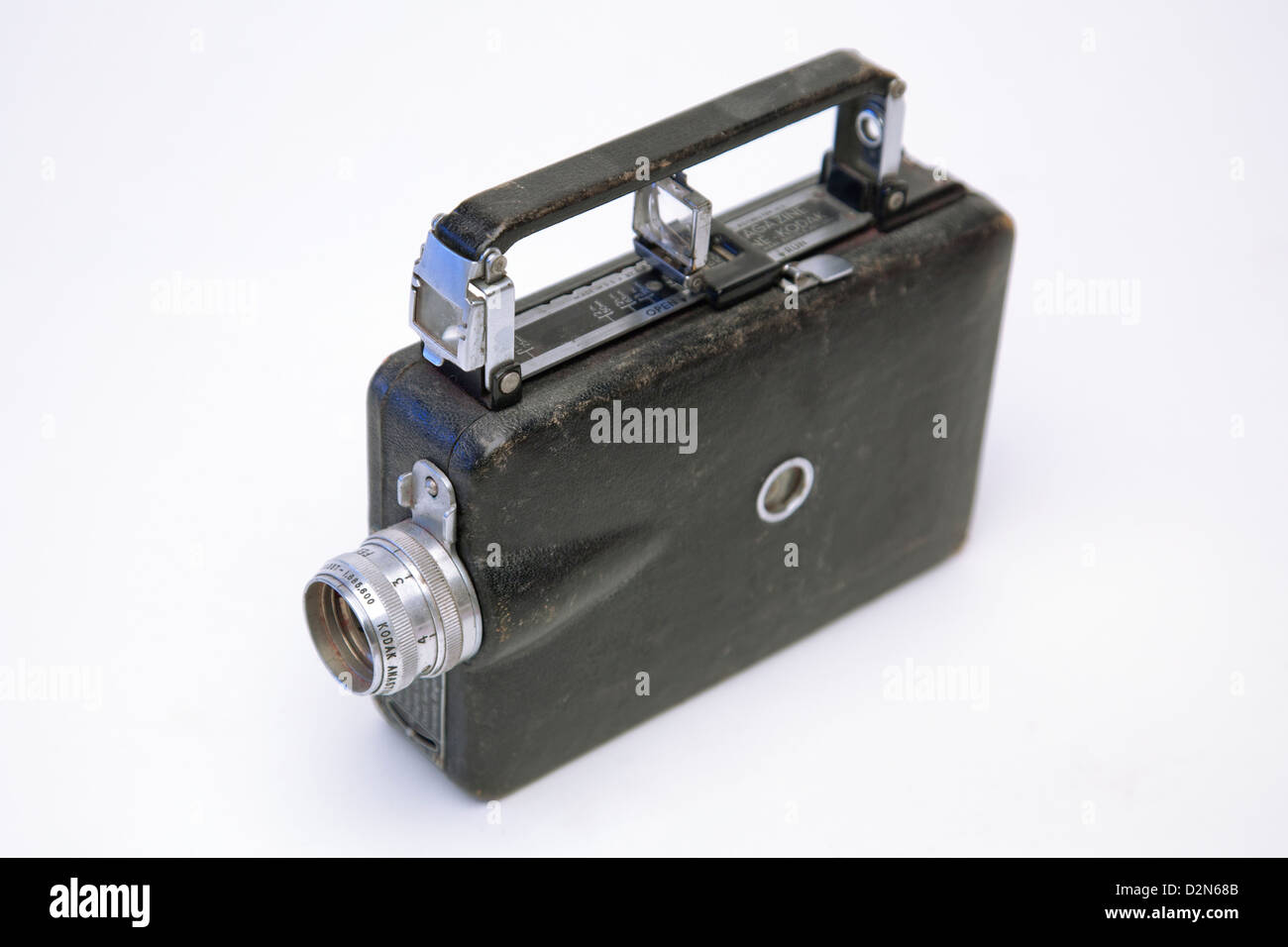 Foto de estudio de una Vendimia Eastman Kodak Revista cámara de cine Imagen De Stock