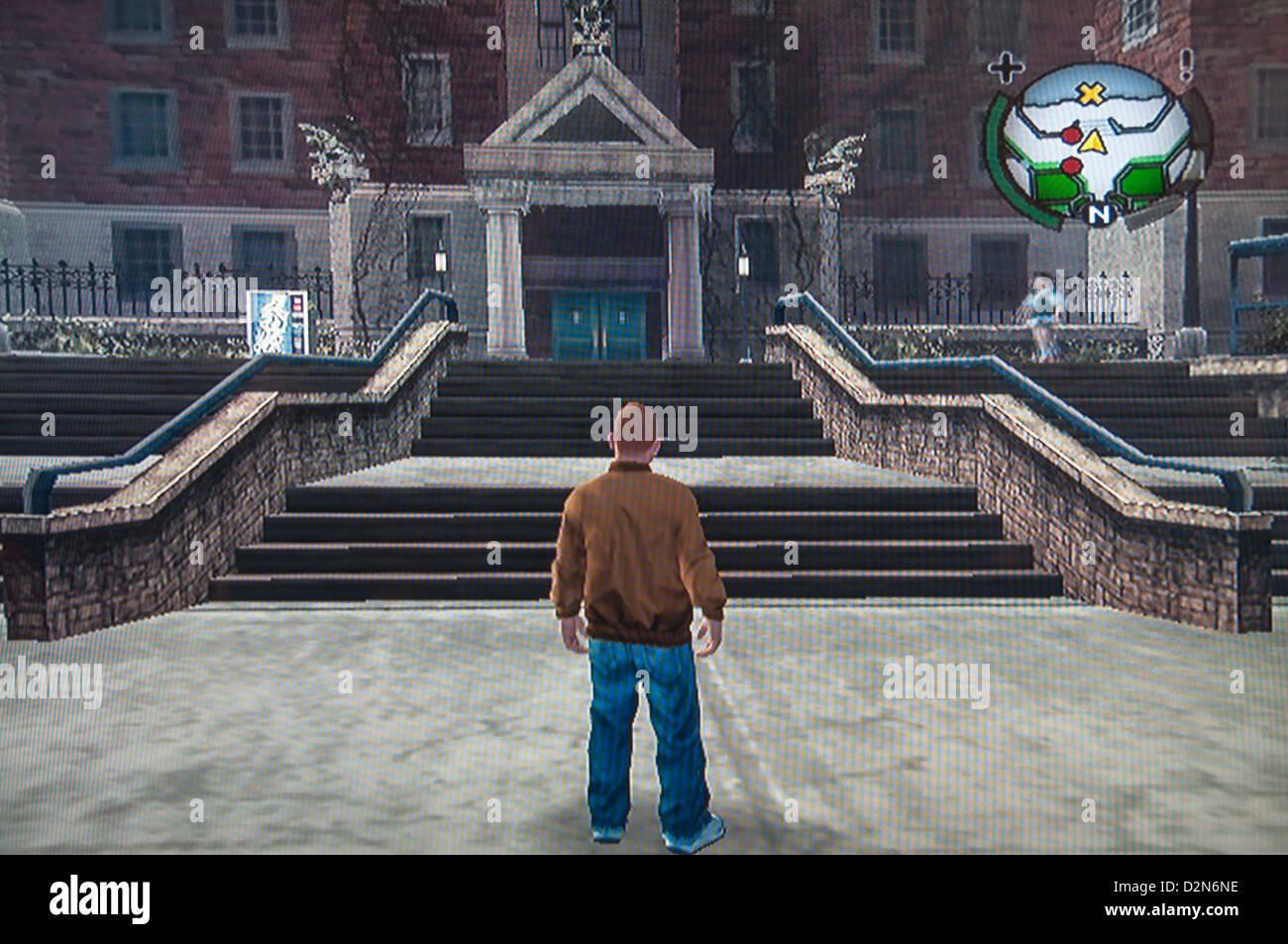 Grand Theft Auto video game Imagen De Stock