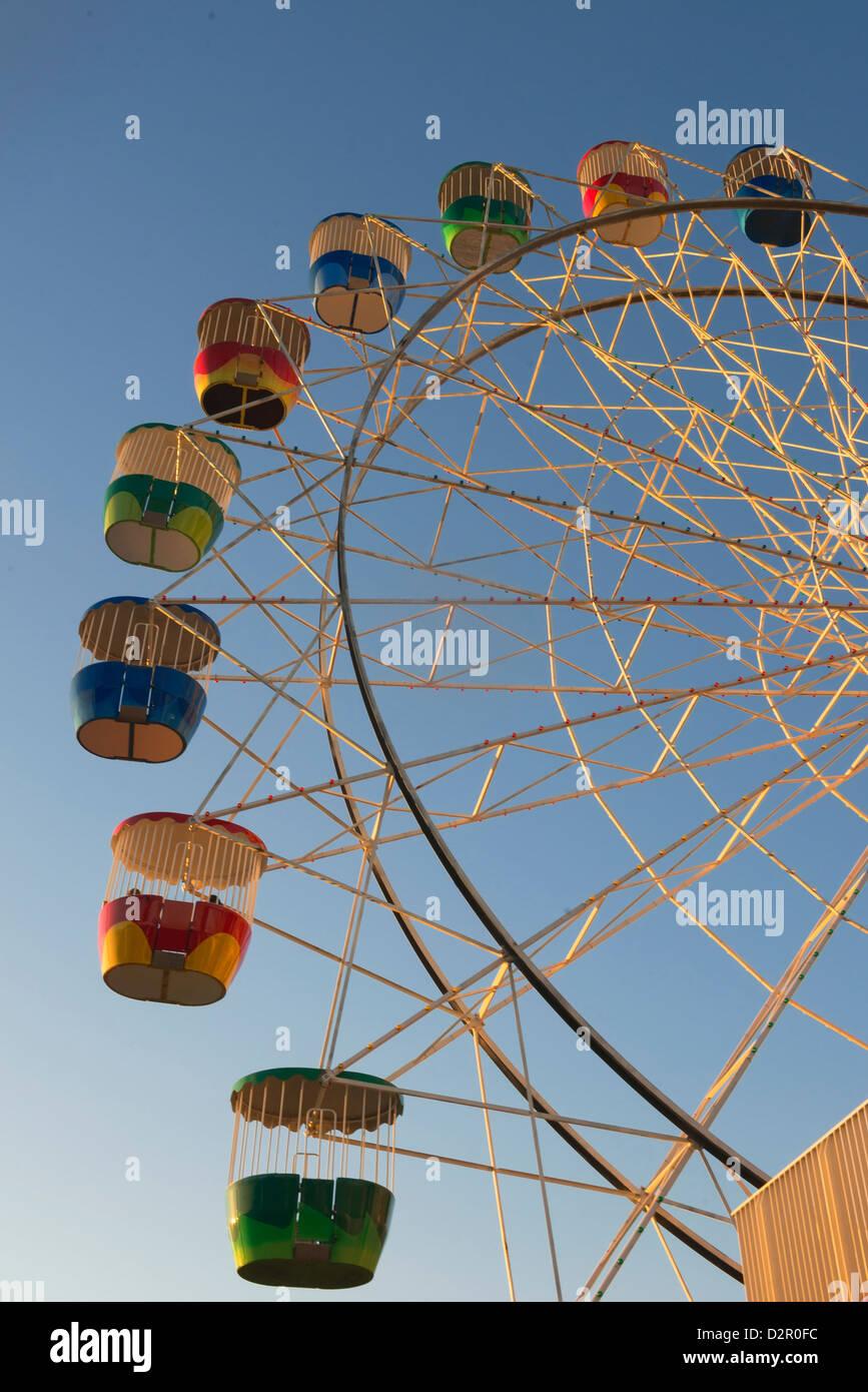 Noria, Luna Park, Sydney, New South Wales, Australia, el Pacífico Foto de stock