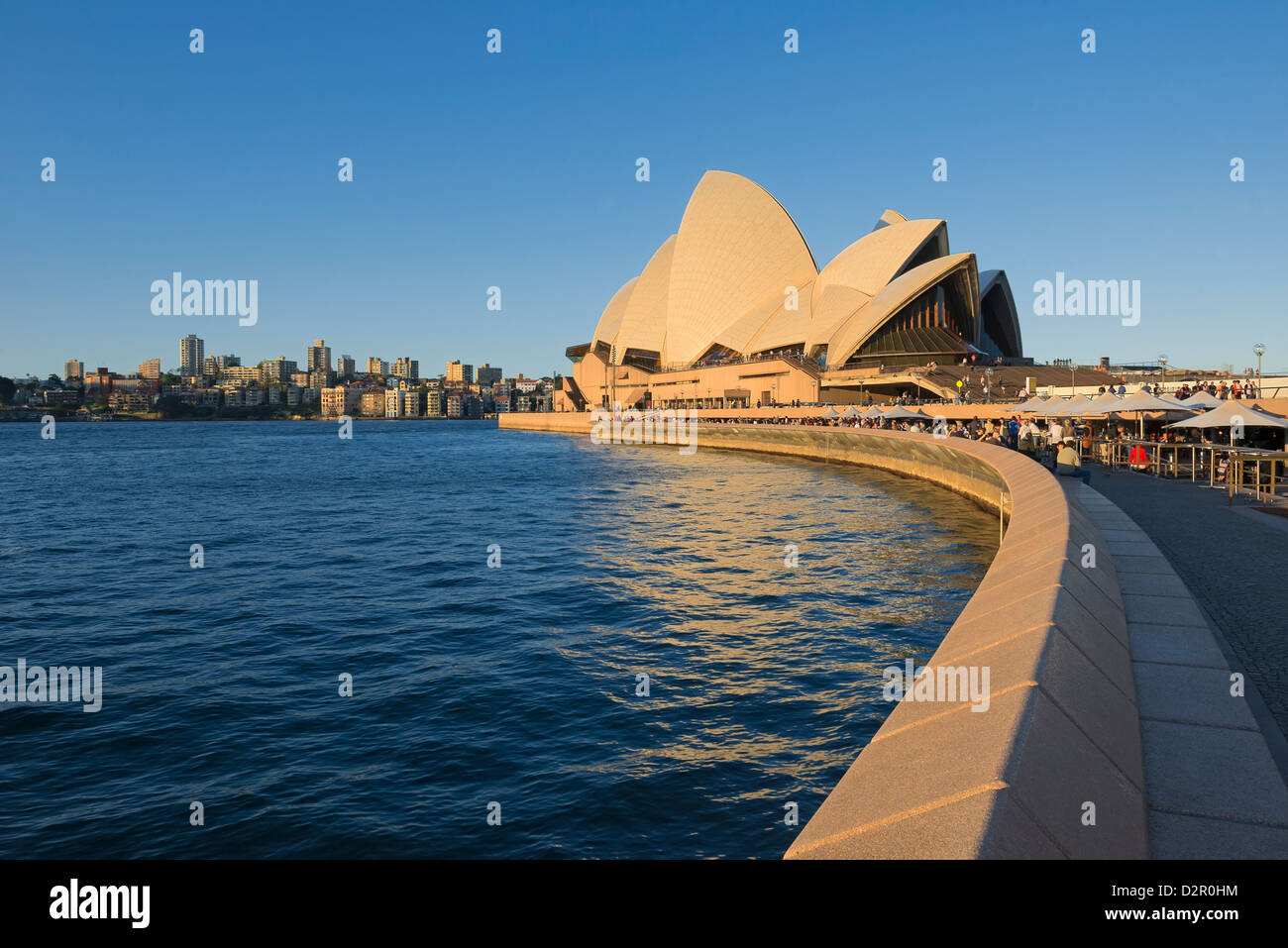Ópera, Sitio del Patrimonio Mundial de la UNESCO, Sydney, New South Wales, Australia, el Pacífico Foto de stock