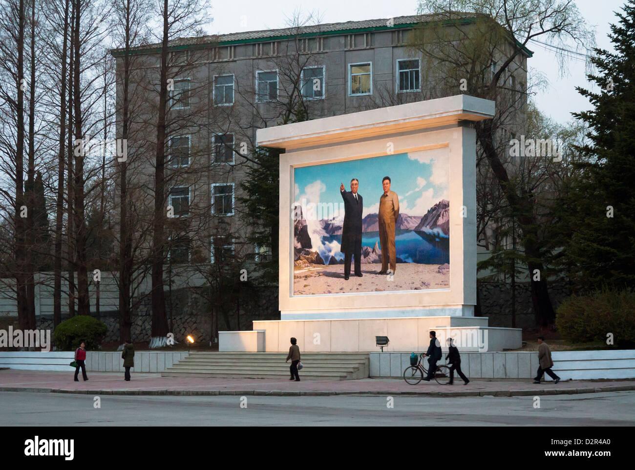 La ciudad de Wonsan, Mar Oriental de Corea, República Popular Democrática de Corea (RPDC), Corea del Norte, Imagen De Stock