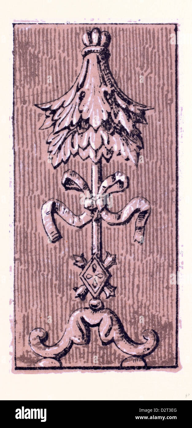 Ornamento renacentista Imagen De Stock