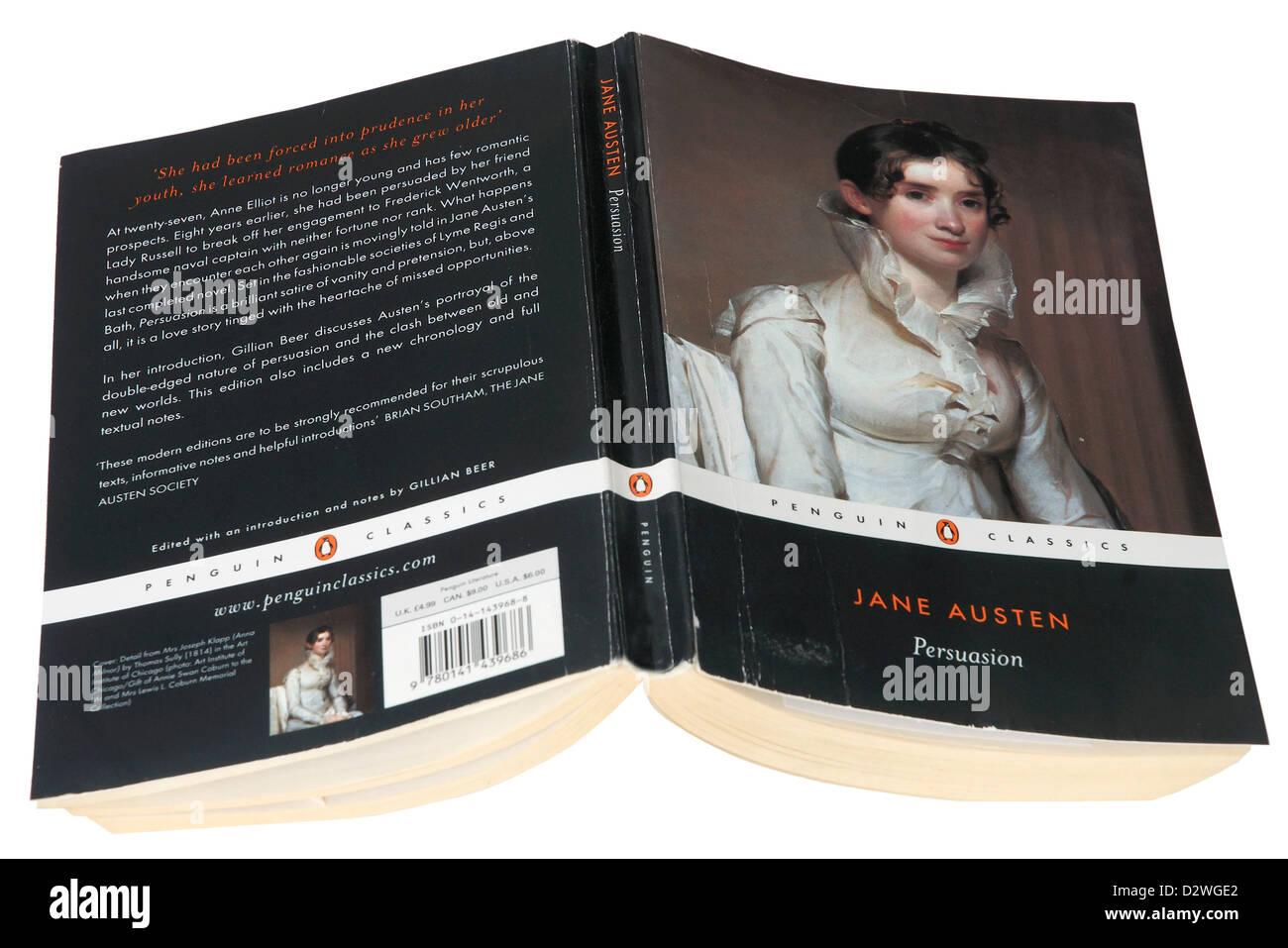 Persuasión de Jane Austen Imagen De Stock
