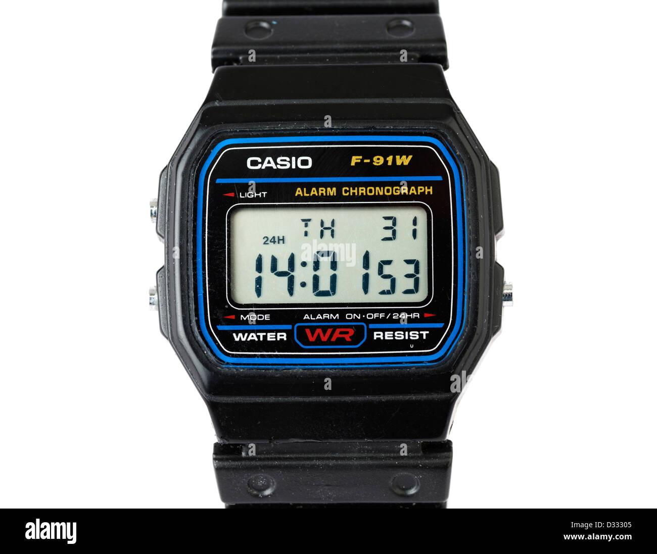 Reloj digital Casio Imagen De Stock