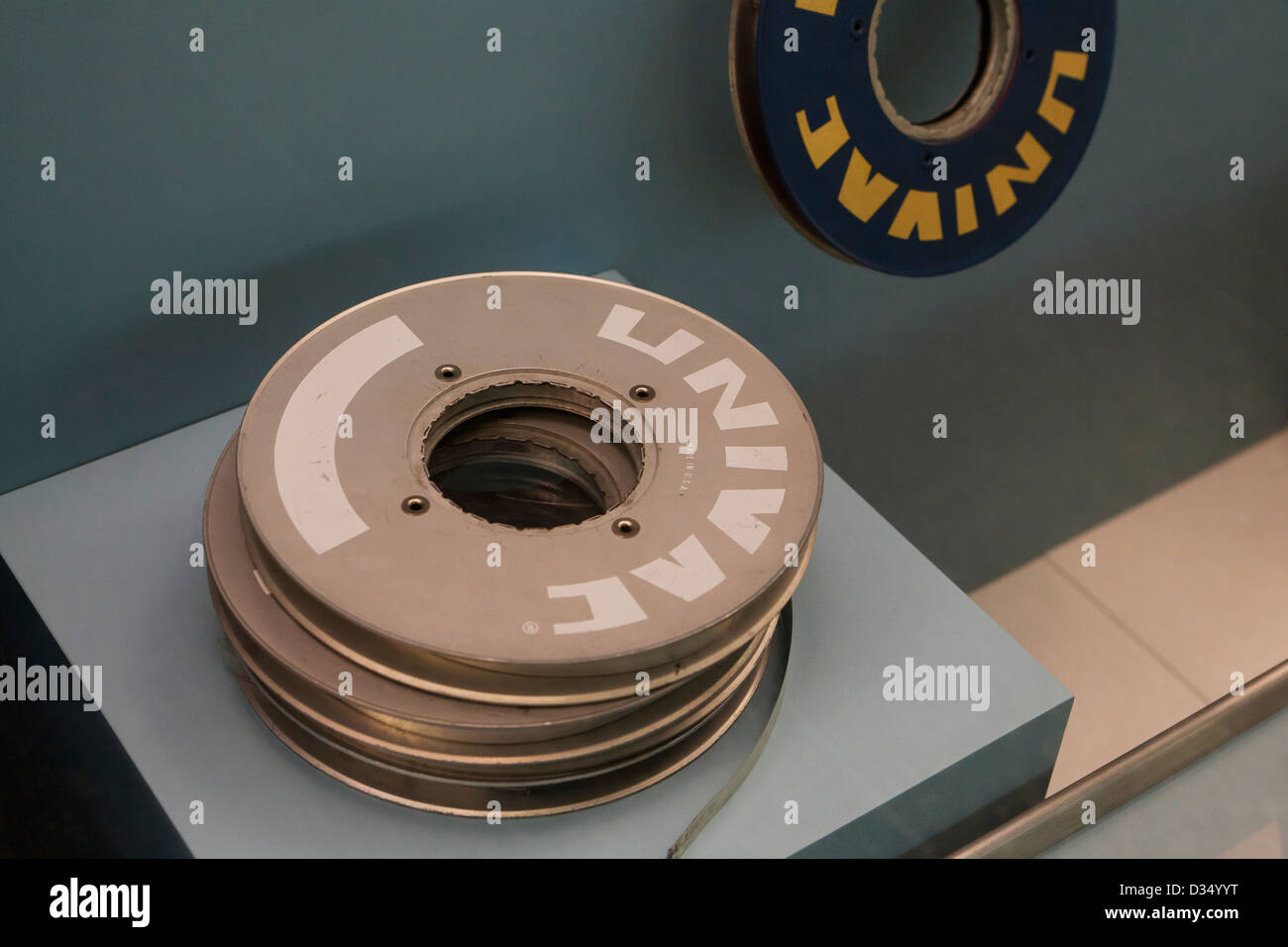 Las bobinas de cinta magnética Vintage - circa 1960 Imagen De Stock