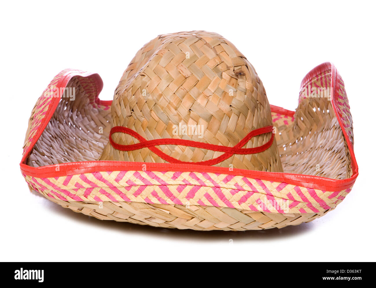 2f96e7b5fa6c5 Mexican Sombrero On White Background Imágenes De Stock   Mexican ...