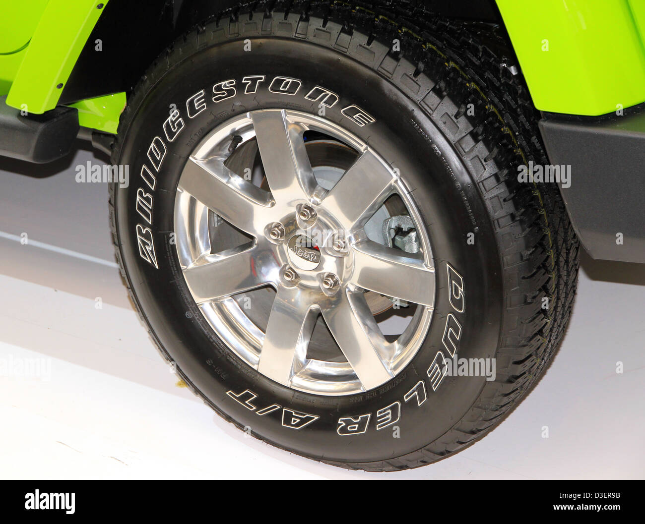 Los neumáticos Bridgestone Foto de stock