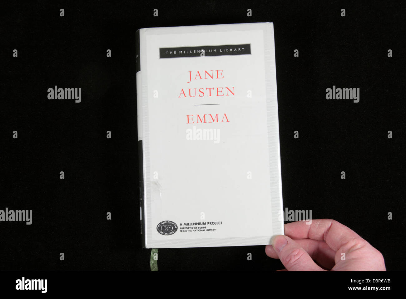 """""""Emma"""", escrito por Jane Austen. Imagen De Stock"""