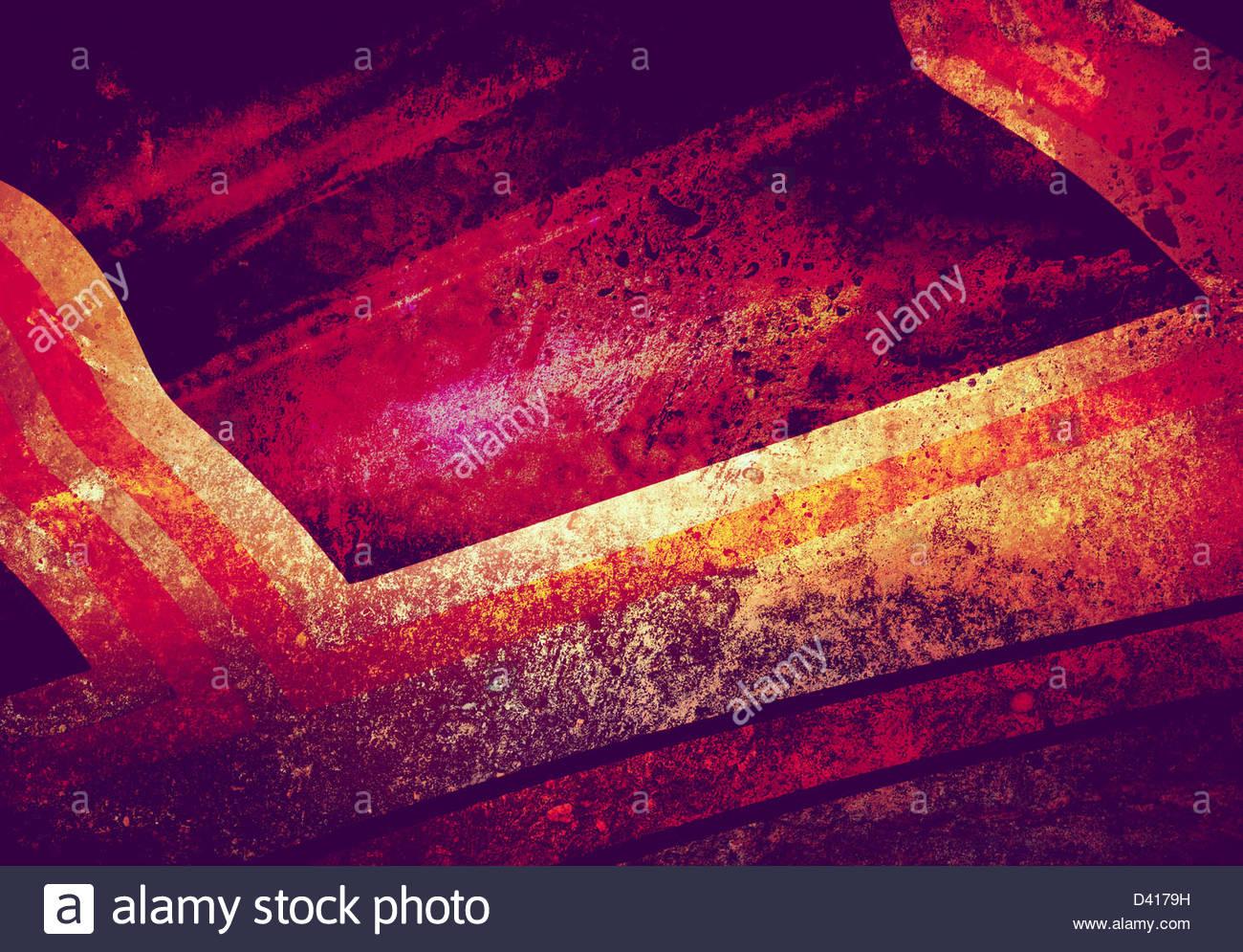 Abstractos pintados Imagen De Stock