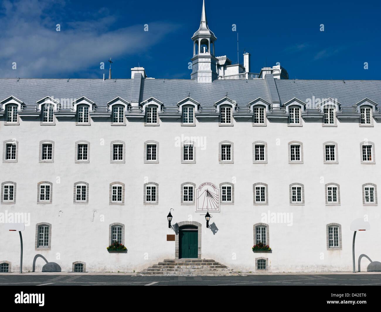 Canadá, Quebec, la ciudad de Quebec, Laval University Escuela de Arquitectura. Imagen De Stock
