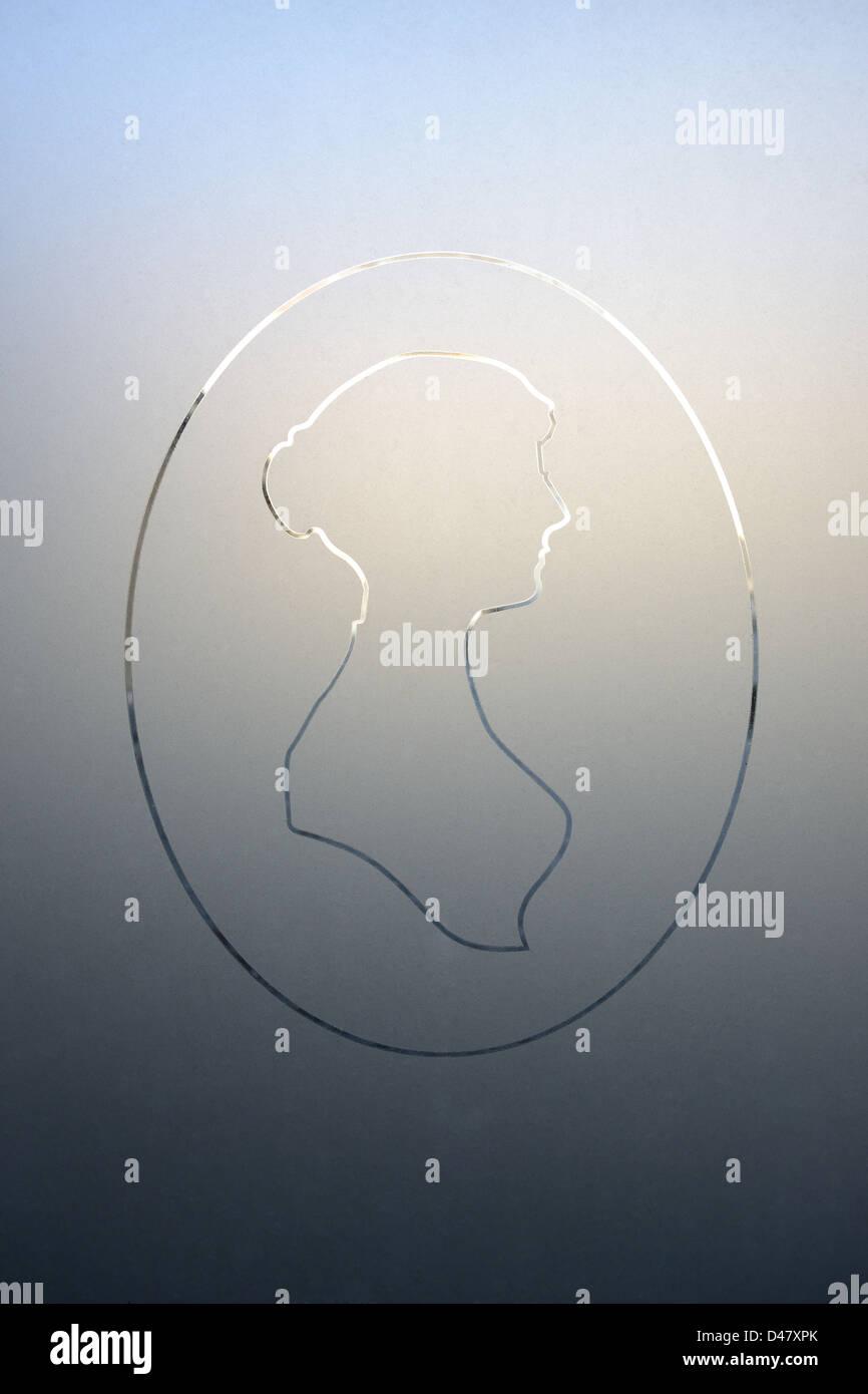 Jane Austen Imagen De Stock