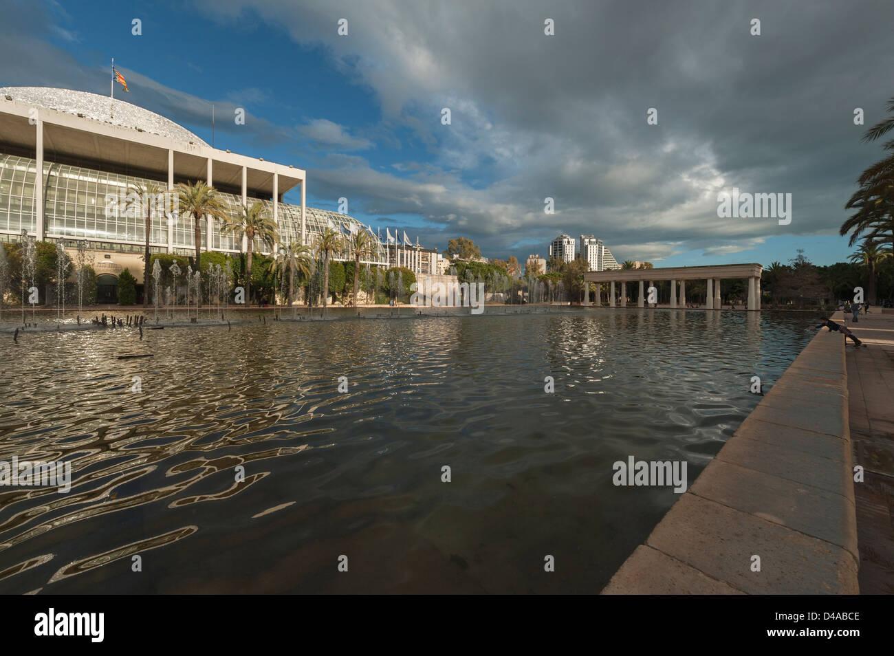 Palau de la música Valencia Imagen De Stock