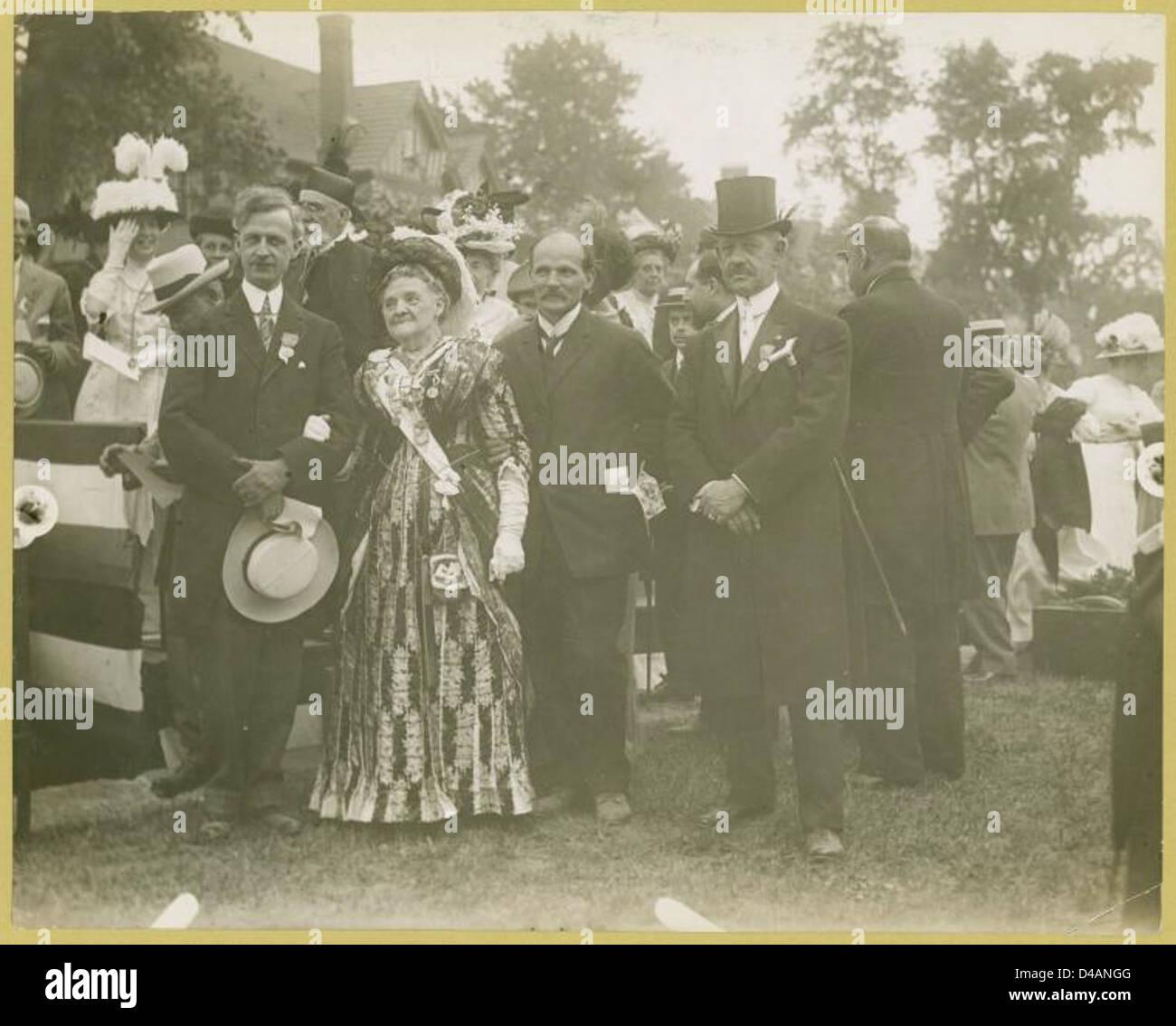 [New Rochelle desfile histórico] Imagen De Stock