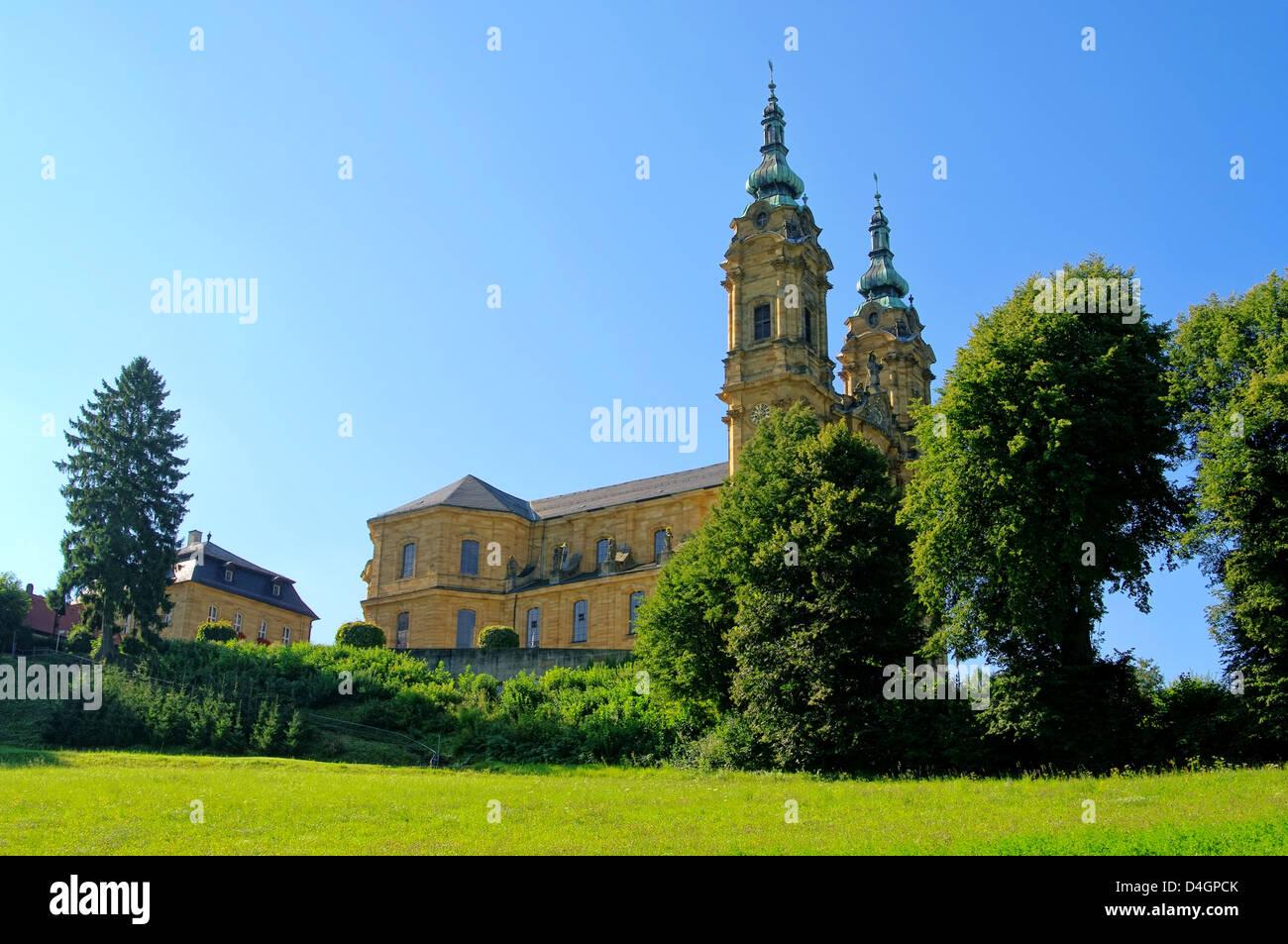 Basilika Vierzehnheiligen - Basílica de los catorce Ayudantes Santo 05 Imagen De Stock