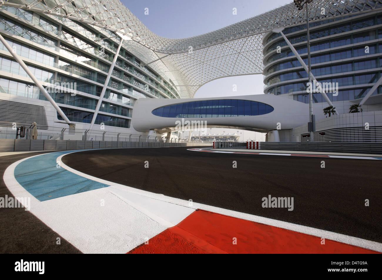 Circuito Yas Marina : Ver en yas hotel en el circuito yas marina en abu dhabi emiratos
