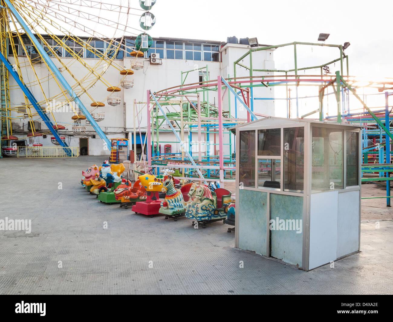 Luna Park en Beirut, Líbano Imagen De Stock