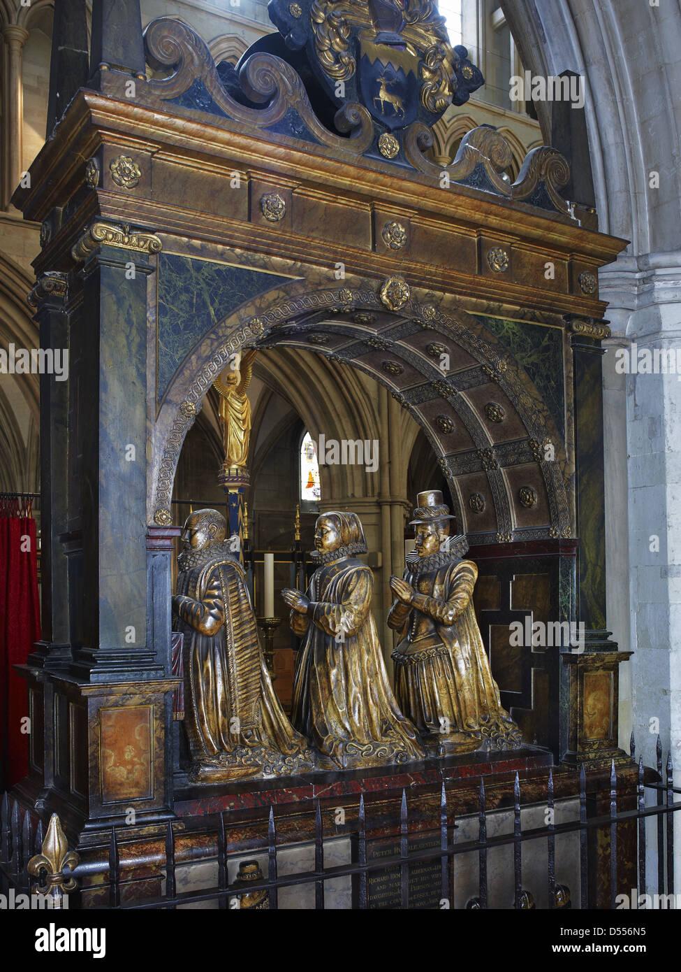 La Catedral de Southwark humilde monumento Imagen De Stock