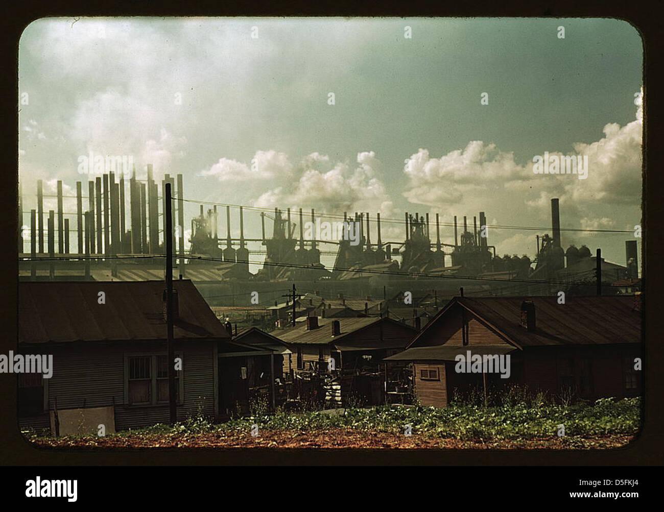 [Casas y fábricas] (LOC) Imagen De Stock