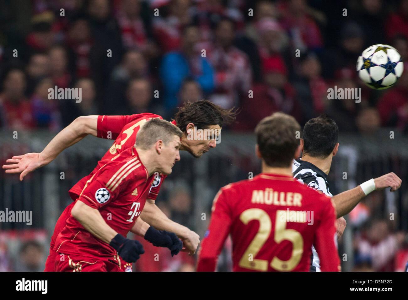 Daniel van Buyten (Bayern), 2 de abril de 2013 - Fútbol / Fútbol ...