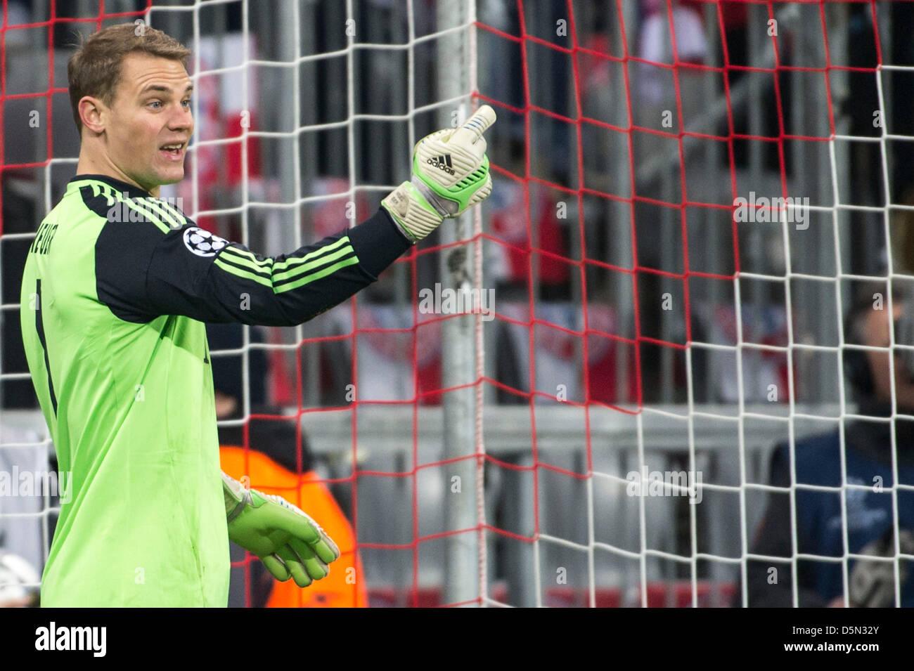 Manuel Neuer (Bayern), 2 de abril de 2013 - Fútbol / Fútbol UEFA ...