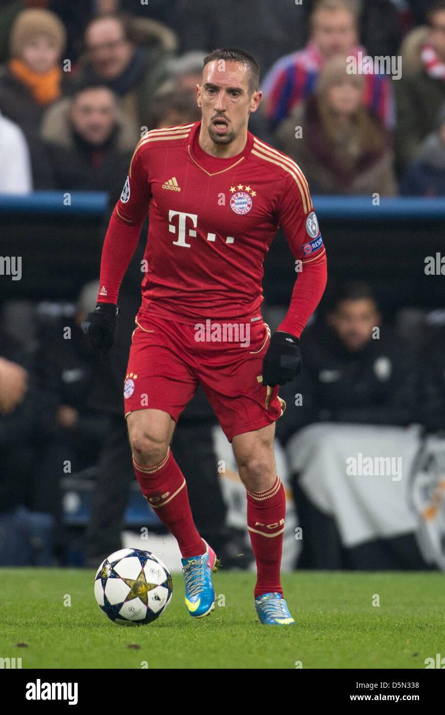 Franck Ribery (Bayern), 2 de abril de 2013 - Fútbol / Fútbol UEFA ...