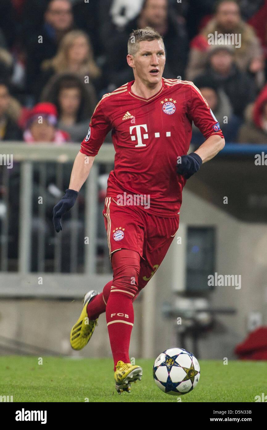 Bastian Schweinsteiger (Bayern), 2 de abril de 2013 - Fútbol ...