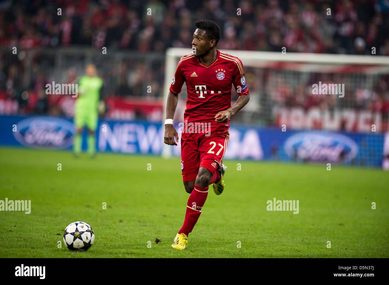 David Alaba (Bayern), 2 de abril de 2013 - Fútbol / Fútbol UEFA ...