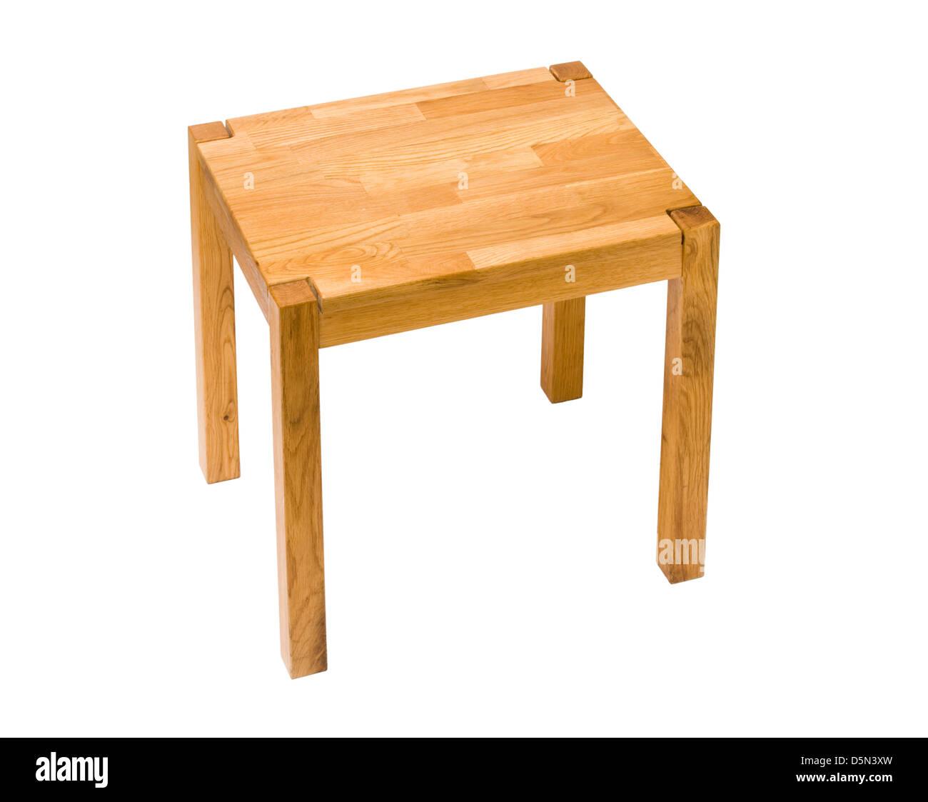 Pequeña mesa. Imagen De Stock