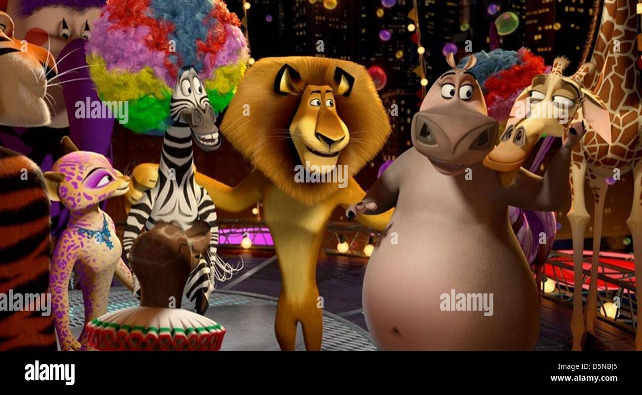 MADAGASCAR 2005 DreamWorks SKG animation Imagen De Stock