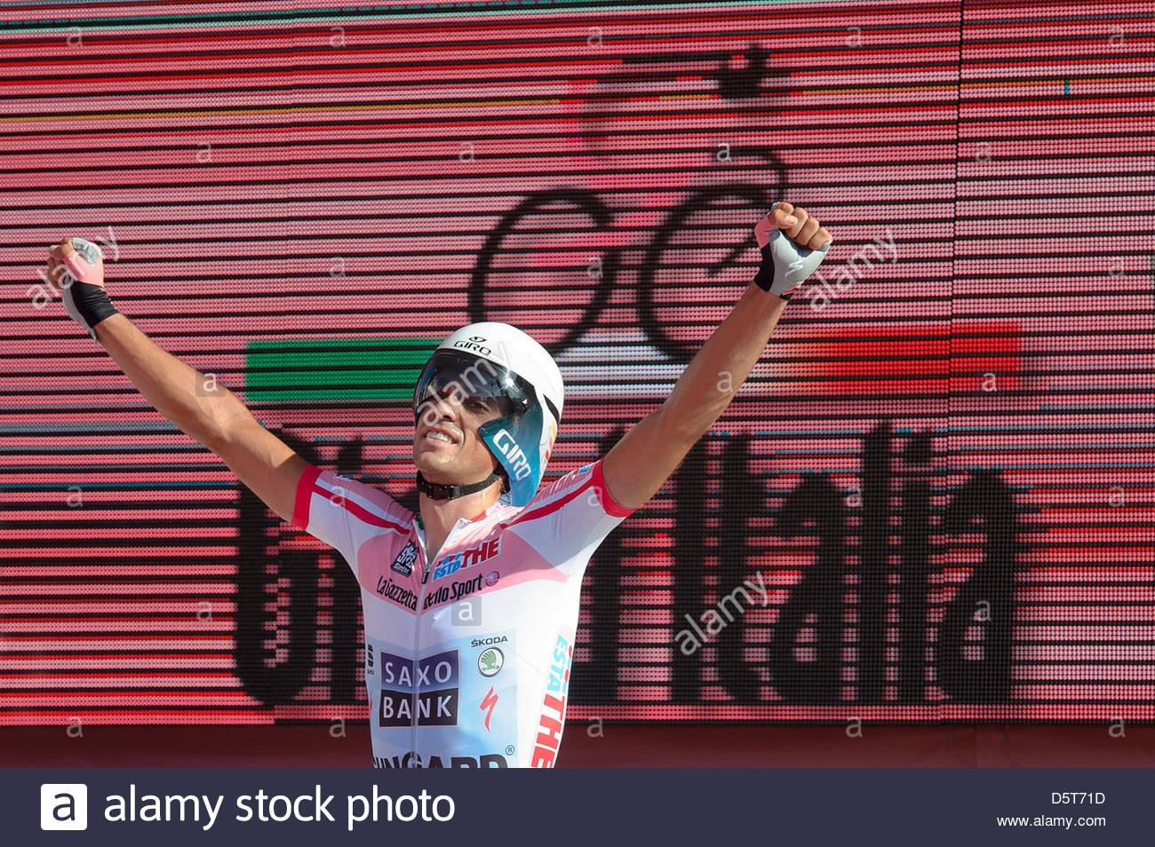 Alberto Contador, ganador del Giro d'Italia 2011 Imagen De Stock