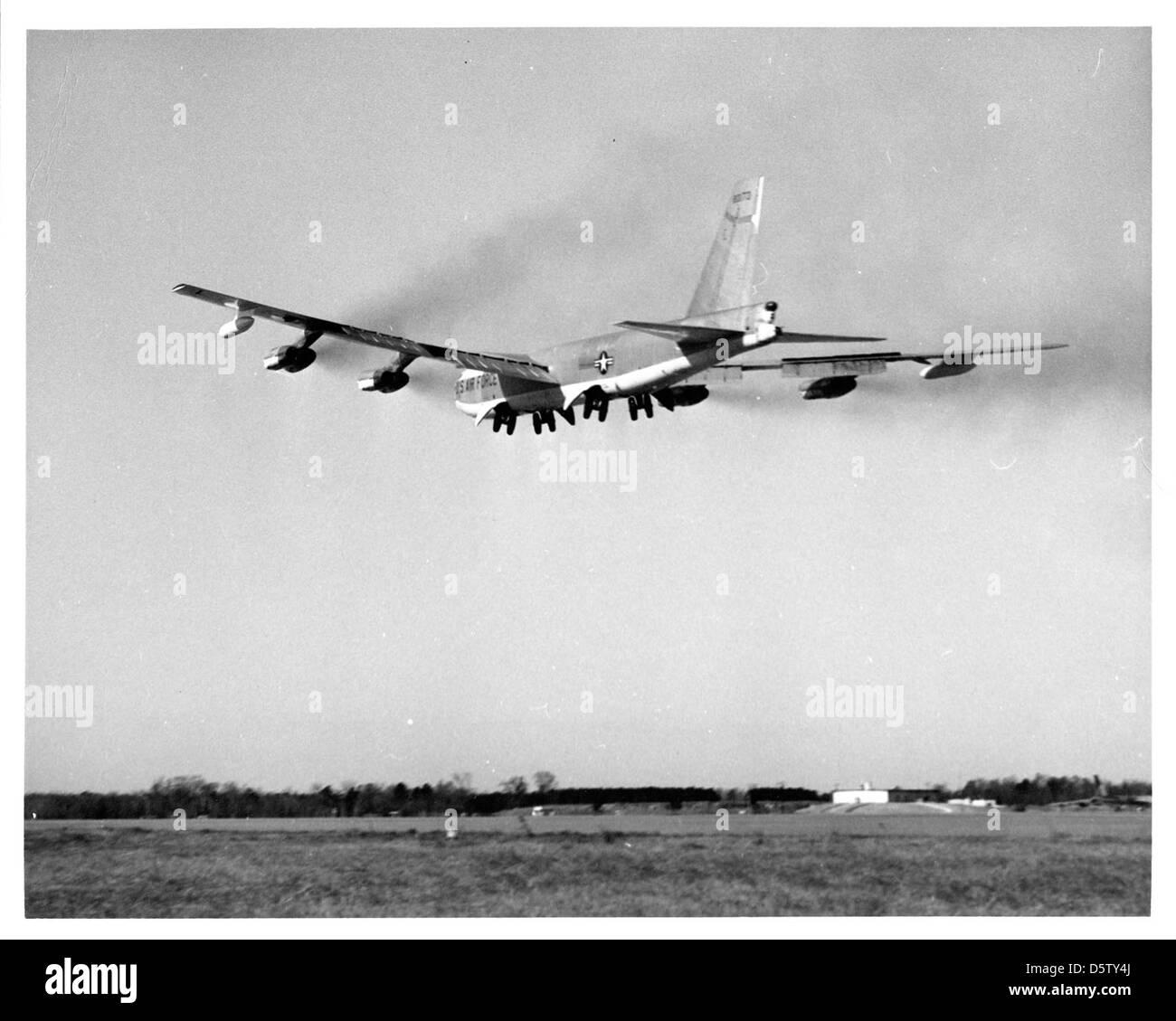 Boeing B-52G-95-BW 'Stratofortress' Foto de stock