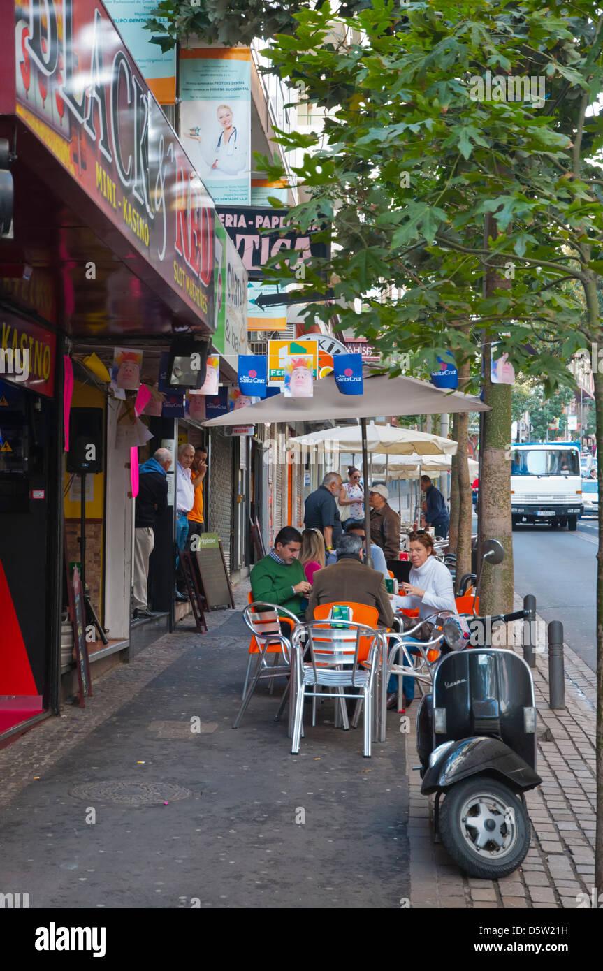 Restaurante Café Terrazas Junto Villalba Herbas Calle