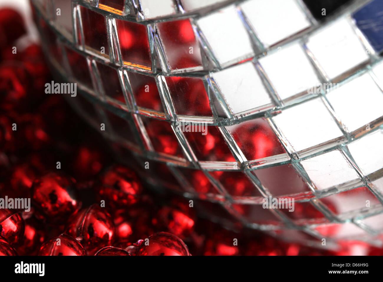 Brillante decoración reflectantes Foto de stock