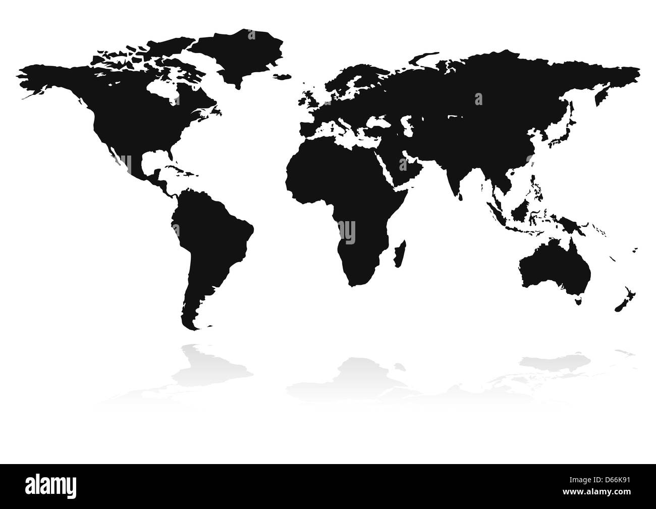 World map black and white countries imgenes de stock world map silueta de pases sobre blanco mapa del mundo imagen de stock gumiabroncs Choice Image