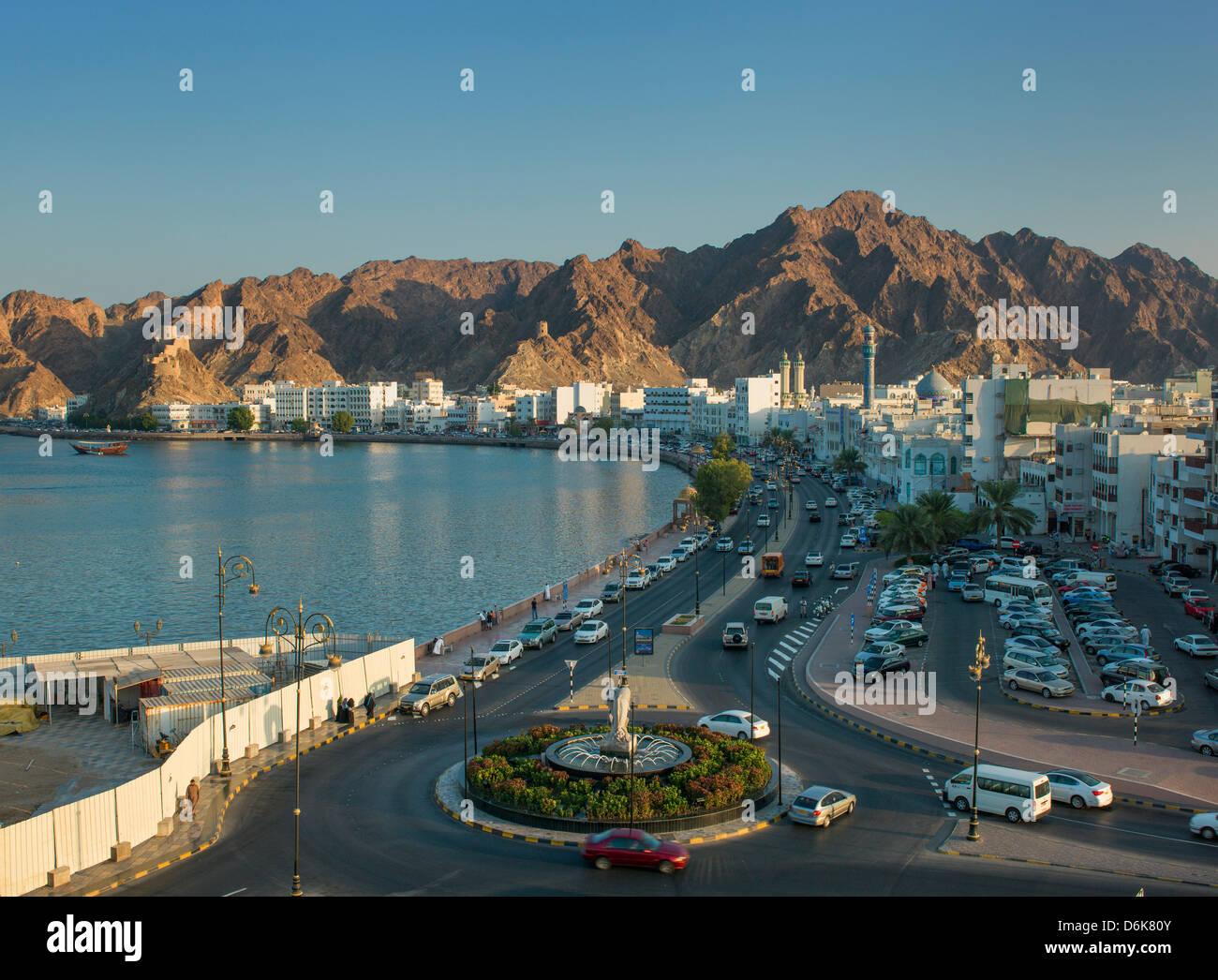 Distrito Mutthra, Muscat, Omán, Oriente Medio Imagen De Stock